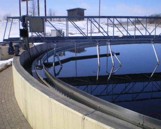Water handling system reconstruction